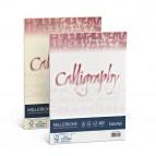 Carta Calligraphy Millerighe - A4 - 200 gr - bianco 01 - Favini - conf. 50 fogli