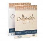 Carta Calligraphy Canvas - A4 - 200 gr - bianco 01 - Favini - conf. 50 fogli