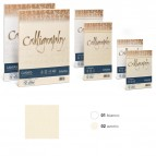 Busta Calligraphy Canvas - 110 x 220 mm - 100 gr - bianco 01 - Favini - conf. 25 pezzi