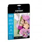 Carta fotografica Performance - A4 - 180 gr - effetto lucido fronte/retro - bianco - Canson - conf. 20 fogli