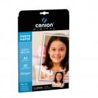 Carta fotografica Performance - A4 - 210 gr - effetto lucido - bianco - Canson - conf. 20 fogli
