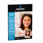 Carta fotografica Performance - A3 - 210 gr - effetto lucido - bianco - Canson - conf. 50 fogli