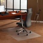 Tappeti protettivi in policarbonato Floortex -Per pavimenti-trasparente- 119x89x0,19cm - FC128919ER