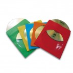 Buste per CD - carta - colori assortiti - Fellowes - conf. 50 pezzi