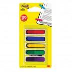 Post-it® Index Mini Frecce per agenda - rosso, blu, giallo, verde, viola - 684-ARR1EU (conf.5)