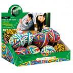 Rubberball - diametro 5 cm - colori assortiti - Lebez - display da 15 sfere di elastici