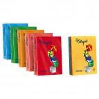 Carta colorata Le Cirque Favini - Colori forti - 80 g/mq - rosso scarlatto - A71C504 (risma500)