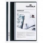 Cartellina ad aghi Duraplus - copertina personalizzabile - 21x29,7 cm - nero - Durable