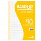 Ricambi BandUp forati rinforzati - A4 - quadretto 5mm - 40 fogli - 90gr - BM