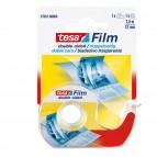 Nastro biadesivo Tesa® Film - in chiocciola - 7,5 mt x 12 mm - trasparente - Tesa®