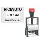 Timbro Datario Classic Line 2360 - autoinchiostrante - 30x45 mm - 5 righe - Colop®