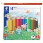Pastelli colorati Noris Club 145 - Staedtler - astuccio 24 colori
