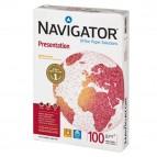 Carta Presentation 100 - A4 - 100 gr - bianco - Navigator - conf. 500 fogli