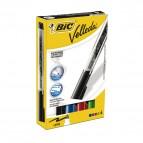 Marcatori Whiteboard Marker Velleda liquid Ink - punta tonda 2,3mm - astuccio  4 colori - Bic