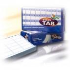 Etichette a modulo continuo Tico TAB 1 - 89x36,2 mm - corsia singola - permanente - bianco - Tico - scatola da 4000 etichette