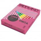 Carta Copy Tinta - A4 - 160 gr - colori forti fucsia - Fabriano - conf. 250 fogli