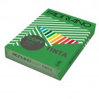 Carta Copy Tinta - A3 - 160 gr - colori forti verde - Fabriano - conf. 125 fogli