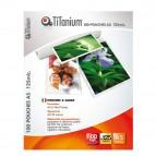 Pouches - jumbo card - 75x105 mm - 2x125 micron - Titanium - conf. 100 pezzi