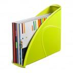 Portariviste CepPro Gloss - 26,5x31 cm - dorso 8 cm - verde anice - Cep