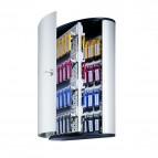 Cassetta portachiavi da parete Key Box - 30,2x11,8x40 cm - 72 posti - grigio - Durable