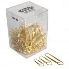 Fermagli ottonati in scatola Gran Mix - 125 g - misure assortite - Molho Leone