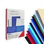 Copertine LeatherGrain™ per rilegatura - A4 - goffrate - blu - 250 gr - GBC - conf. 100 pezzi