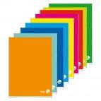 Maxiquaderno Color 80 Basic - A4 - 1 rigo con margine - 80 fogli - 80gr - BM