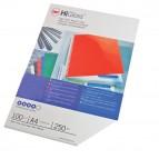Copertine HiGloss™ per rilegatura - A4 - cartoncino lucido - bianco - 250 gr - GBC - conf. 100 pezzi