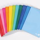 Maxiquaderno Color 80 - A4 - 1 rigo con margine - 80 fogli - 80gr - copertina 250gr - BM
