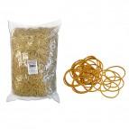Elastici - gomma gialla - ø 10 cm - Markin - sacco da 1 kg