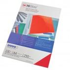 Copertine HiGloss™ per rilegatura - A4 - 250 gr - cartoncino lucido - rosso - GBC - conf. 100 pezzi