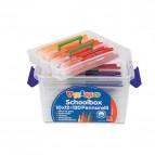 Pennarelli punta fine - colori assortiti - Primo - box 120 pezzi