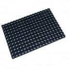 Tappetino Octo Doortex - nero - 80x120 cm - FC481222OCBK
