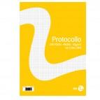 Fogli protocollo - A4 - quadretto 5mm - 20 fogli - 60 gr - BM