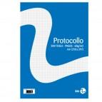 Fogli protocollo - A4 - quadretto 4mm - 20 fogli - 60 gr - BM