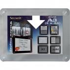 Display informativo a ventose - A3 - grigio - Securit