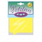 Segnaprezzi Fumetto - 11x15,5 cm - giallo - CWR - conf. 12 pezzi