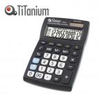 Calcolatrice da tavolo - 73032 - 12 cifre - nero - Titanium