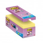 Blocco foglietti Post It Super Sticky giallo Canary - 76 x 76mm - 90 fogli - Post It - conf. 16 blocchi