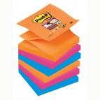 Blocchetto Post It Super Sticky Z Notes - colorati - 76 x 76mm - 90 fogli - Post It