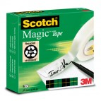 Nastro adesivo Scotch® Magic™ 810 - invisibile - permanente - 25 mm x 66 mt - trasparente - Scotch®