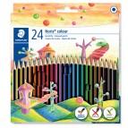 Pastelli colorati Noris Colour - Staedtler - Astuccio 24 pastelli colorati