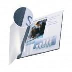 Copertine flessibili con fronte trasparente Esselte - 106-140 ff - blu marina - 74150035 (conf.10)