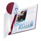 Copertine flessibili con fronte trasparente Esselte - 36-70 ff -rosso scarlatto - 73990028 (conf.10)