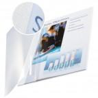 Copertine flessibili con fronte trasparente Esselte - 10-35 ff - bianco avorio - 73980001 (conf.10)