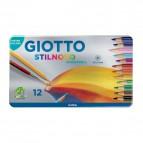 Pastello Stilnovo Acquarell Giotto - 3,3 mm - da 3 anni in poi - 256200 (conf.12)