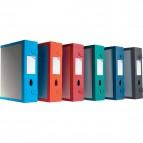 Scatola Archivio Combi Box E500 Leonardi - Dorso 9 mm - grigio grafite - E500GG