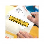 Buste autoadesive portadocumenti WillChip - scritta - 16x11 cm - 18x13,5 cm - 180135100S (conf.100)