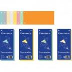 Divisori orizzontali Exacompta - azzurro - 13315B (conf.100)