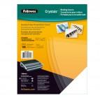 Copertine Clear - A4 - 200 micron - PVC - neutro trasparente - Fellowes - scatola 100 pezzi